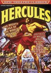 Hercules on DVD