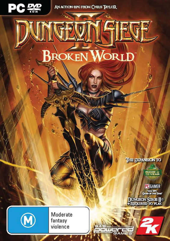 Dungeon Siege II: Broken World Expansion for PC Games
