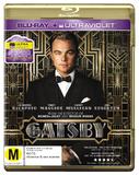 The Great Gatsby on Blu-ray, UV
