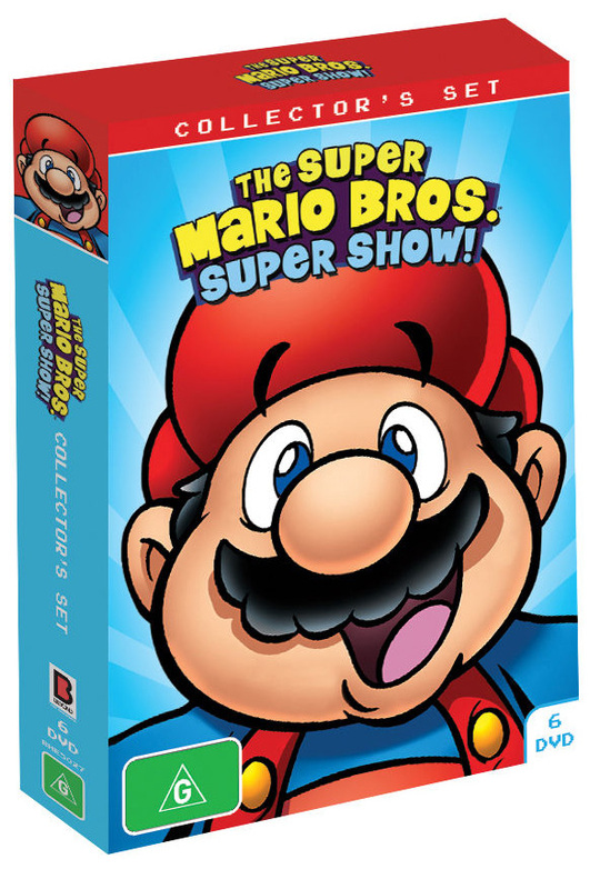 Super Mario Bros Super Show Collector S Set Dvd Buy Now At
