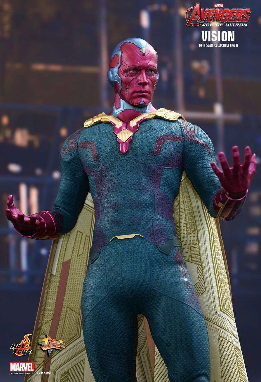 Avengers 2 Vision 1 6 Scale Figure At Mighty Ape Nz
