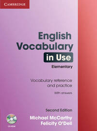 English Vocabulary in Use: Elementary with Answers and CD-ROM by Felicity O'Dell image