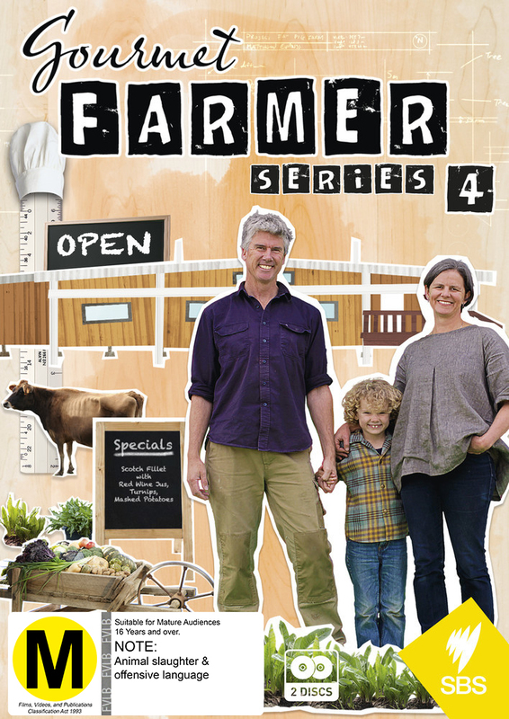 Gourmet Farmer - Series 4 on DVD