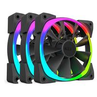 140mm NZXT Aer RGB Digitally Controlled RGB LED Fan for Hue+ (Triple Pack)
