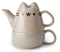 Pusheen the Cat Tea for One 10 oz. Tea Set