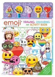 Kaleidoscope: Emoji Colouring & Activity - 5-Pencil Set