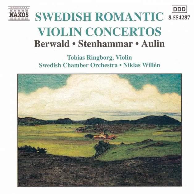 Swedish Romantic Violin Concertos on CD