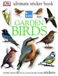 RSPB Garden Birds Ultimate Sticker Book by DK image