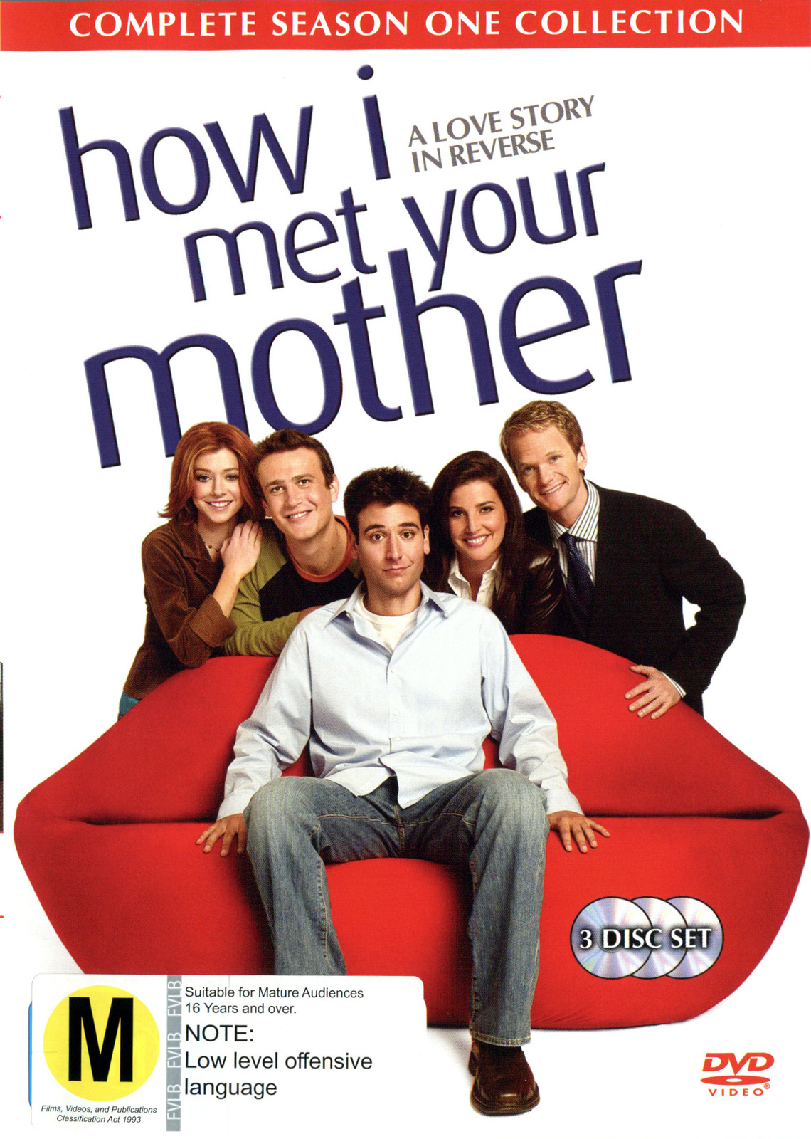 How I Met Your Mother - Season 1 (3 Disc Set) on DVD image
