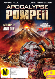Apocalypse: Pompeii on DVD