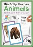 Building Blocks: Write and Wipe Animals Flashcards
