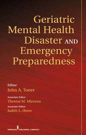 Geriatric Mental Health Disaster and Emergency Preparedness image