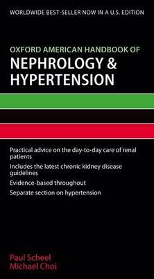 Oxford American Handbook of Nephrology and Hypertension by Paul Scheel image