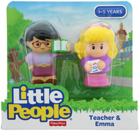 Fisher-Price: Little People - Teacher & Emma