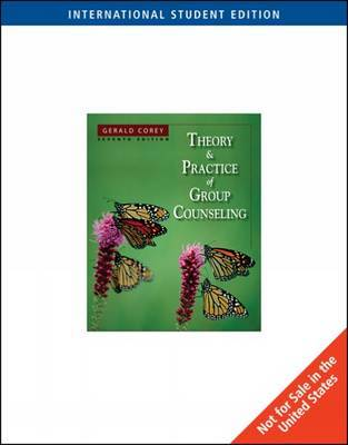 Theory and Practice of Group Counseling by Gerald Corey image