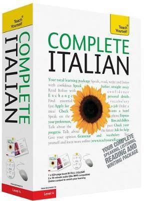 Teach Yourself Complete Italian by Lydia Vellaccio image
