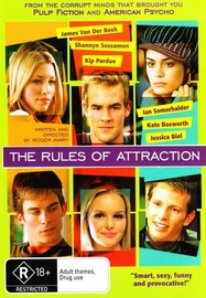The Rules of Attraction on DVD image