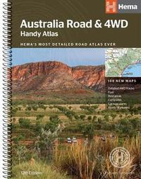 Australia Road and 4WD handy atlas B5 spiral