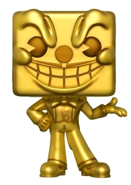 Cuphead - King Dice (Gold Ver.) Pop! Vinyl Figure
