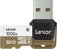 32GB Lexar Professional 1000x microSDHC/SDXC UHS-II