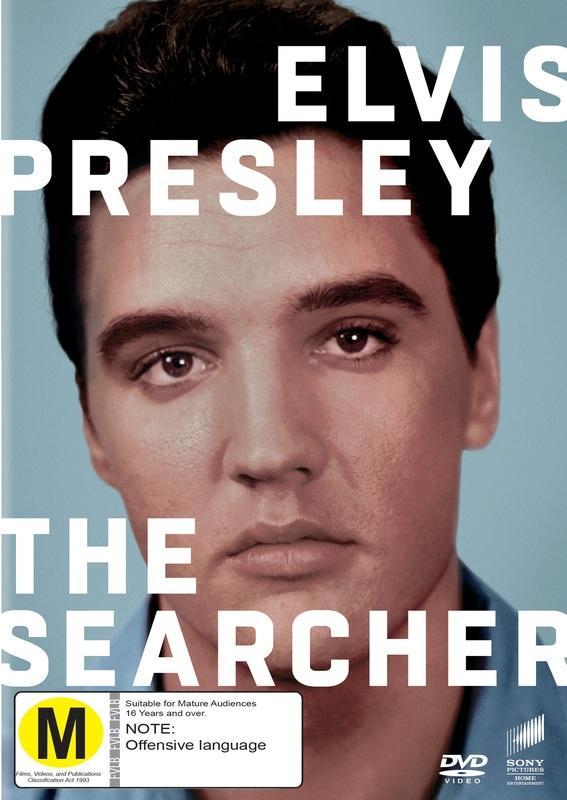 Elvis Presley: The Searcher on DVD