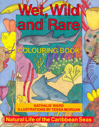 Wild, Wet and Rare Colouring Book by Nathalie Ward image