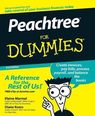 Peachtree For Dummies by Elaine Marmel