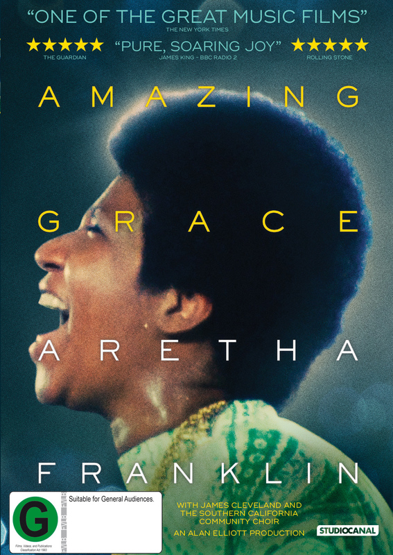 Amazing Grace on DVD