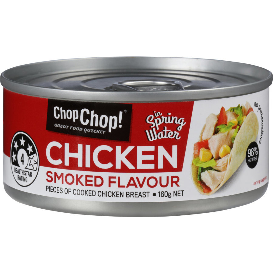 Chop Chop: Chicken Chunks - Smoked Flavour 85g (12 Pack) image