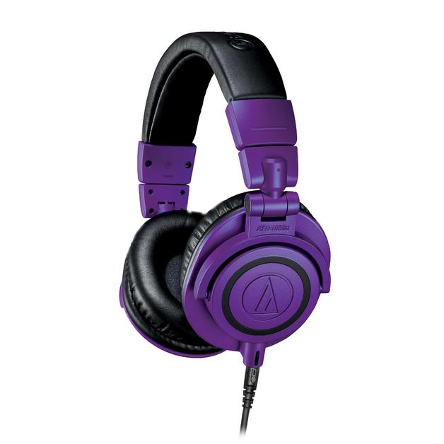 Audio Technica M50X Studio Closed Back Headphone Limited Edition Purple