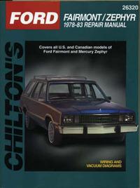 Ford Fairmont/Zephyr Automotive Repair Manual by Chilton Automotive Books image