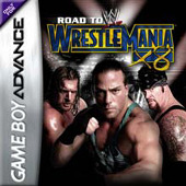 WWE Road To Wrestlemania X8 for Game Boy Advance