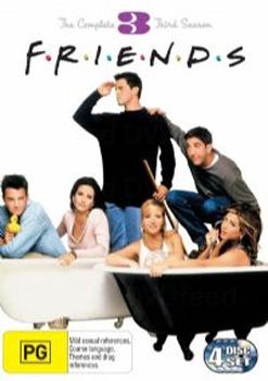 Friends - Season 3 on DVD