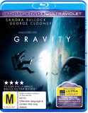 Gravity (Blu-ray/DVD/UV) on Blu-ray