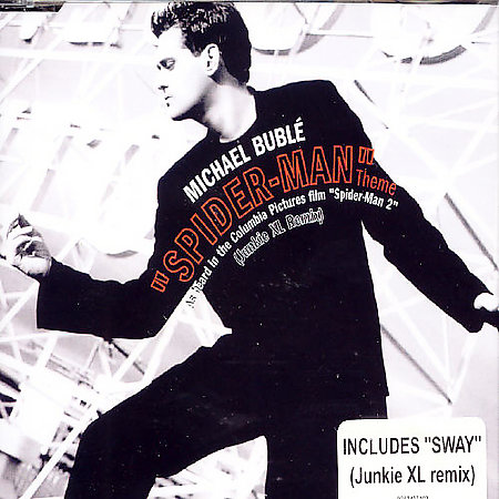 Spiderman Theme/Sway (Remixes) [Single] by Michael Buble image