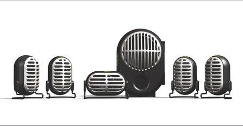 Altec Lansing XA3051 6pc Gamers Series 5.1 Speaker System image