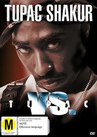 Tupac Vs on DVD