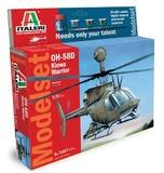 Italeri: 1/72 OH-58D Kiowa - Model Kit