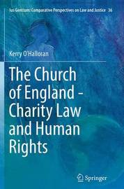 The Church of England - Charity Law and Human Rights by Kerry O'Halloran