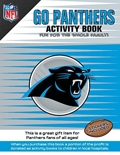 Go Panthers Activity Book by Darla Hall