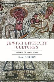 Jewish Literary Cultures by David Stern