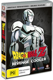 Dragon Ball Z Remastered Movie Collection (Uncut) V03 - Cooler's Revenge / Return of Cooler on DVD image