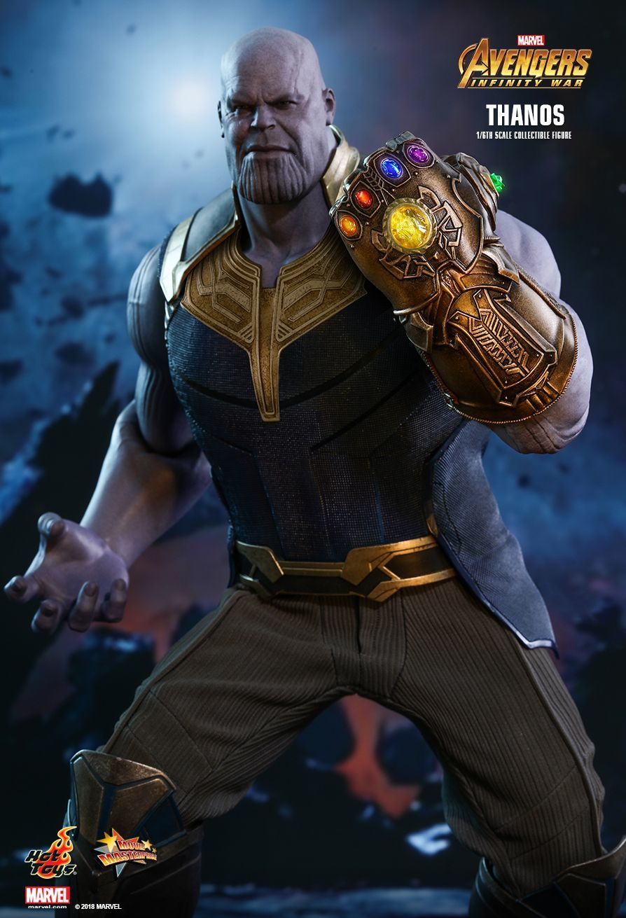 "Avengers Infinity War: Thanos - 12"" Articulated Figure image"