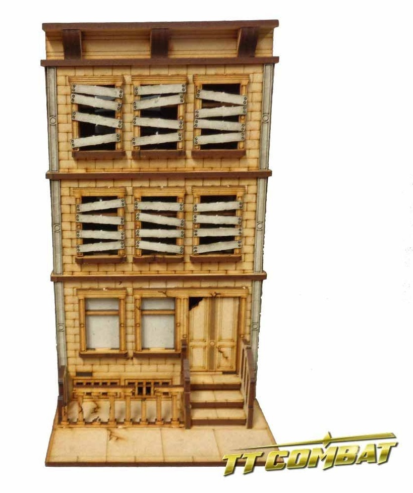 TTCombat: Tabletop Scenics – Abandoned Brownstone image