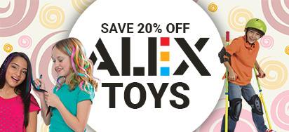 20% off Alex!