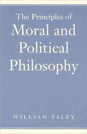 Principles of Moral & Political Philosophy by William Paley image