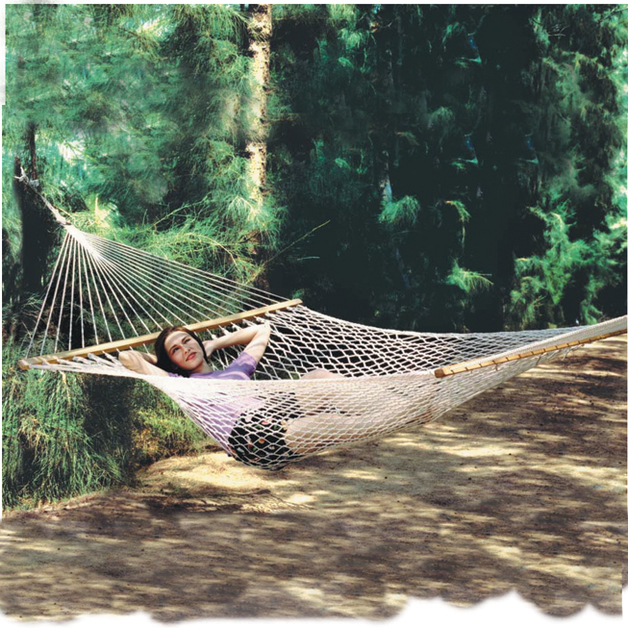 Easy Days: Polyester Rope Hammock - Double