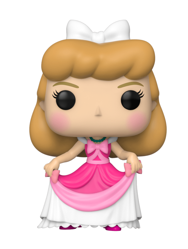 Disney's Cinderella: Cinderella (Pink Dress) - Pop! Vinyl Figure