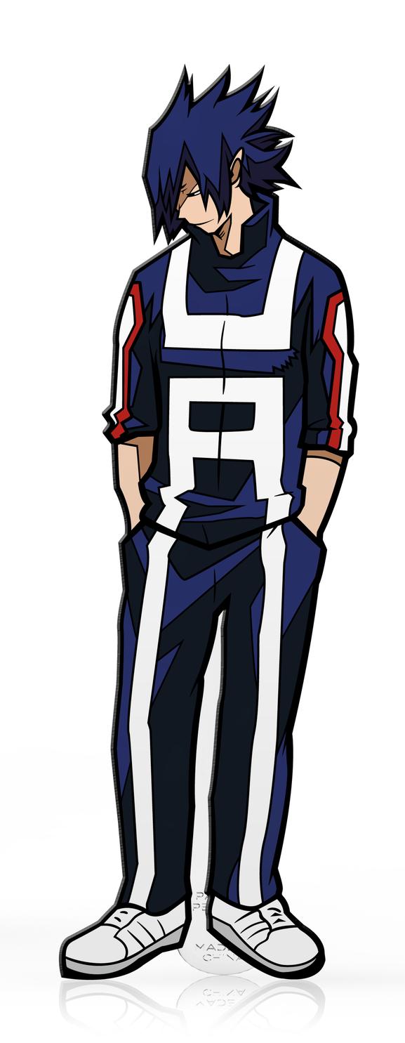 My Hero Academia: Tamaki Amajiki Gym Costume (#386) - Collectors FiGPiN image