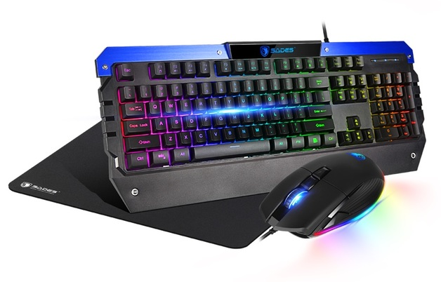 SADES Battle Ram 3-Piece Gaming Combo for PC